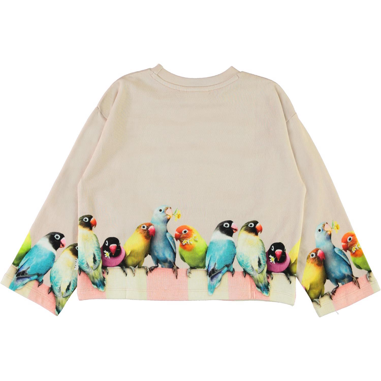 Molo Mikko sweatshirt, Love birds big, 128