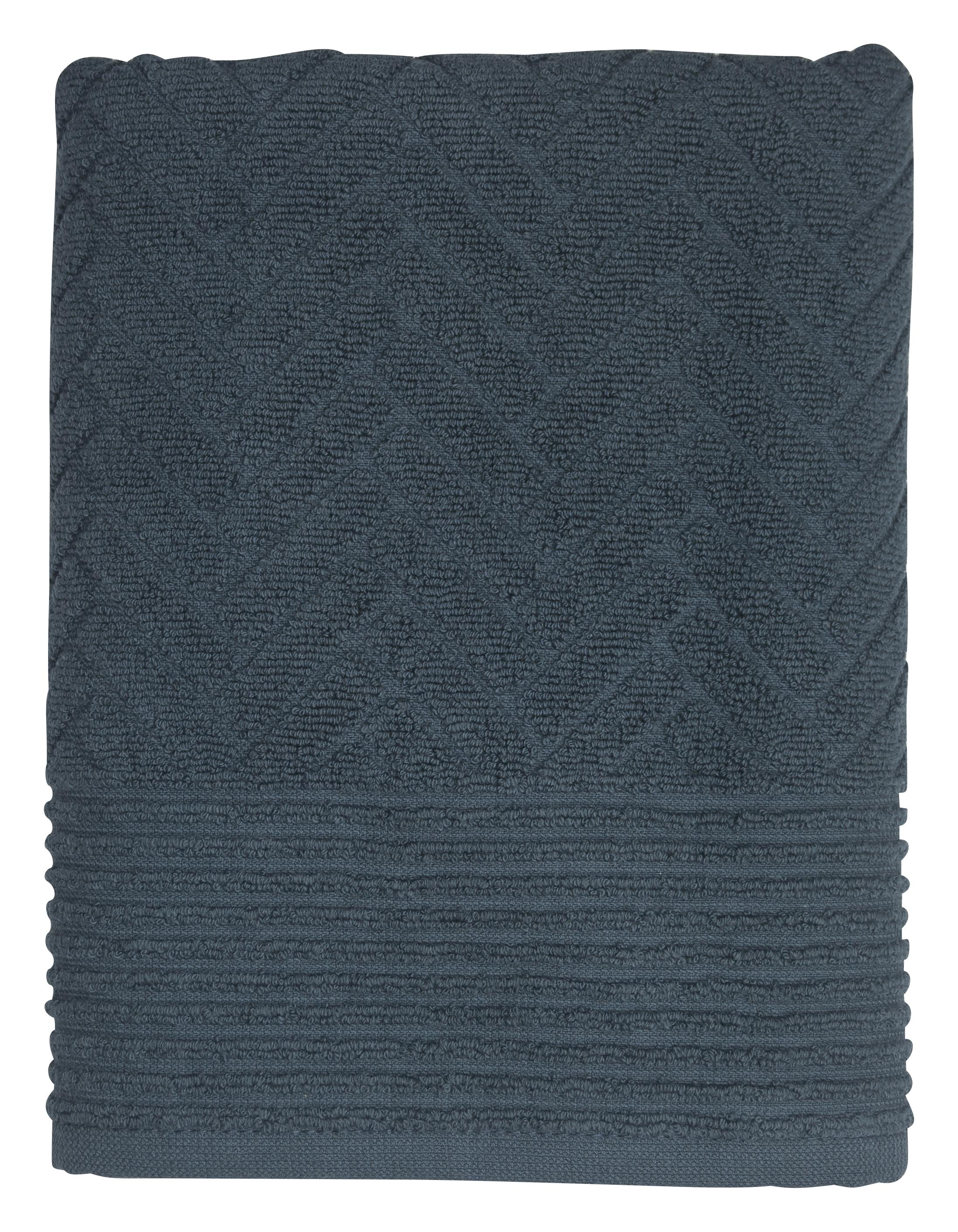 Mette Ditmer Håndklæde, Blå, 35x50 cm
