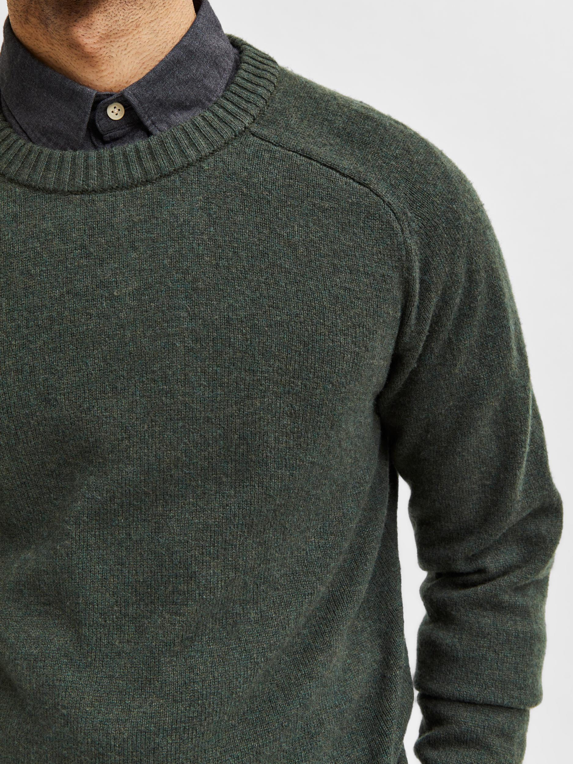 Selected Homme Newcoban LS trøje, forest night, xx-large