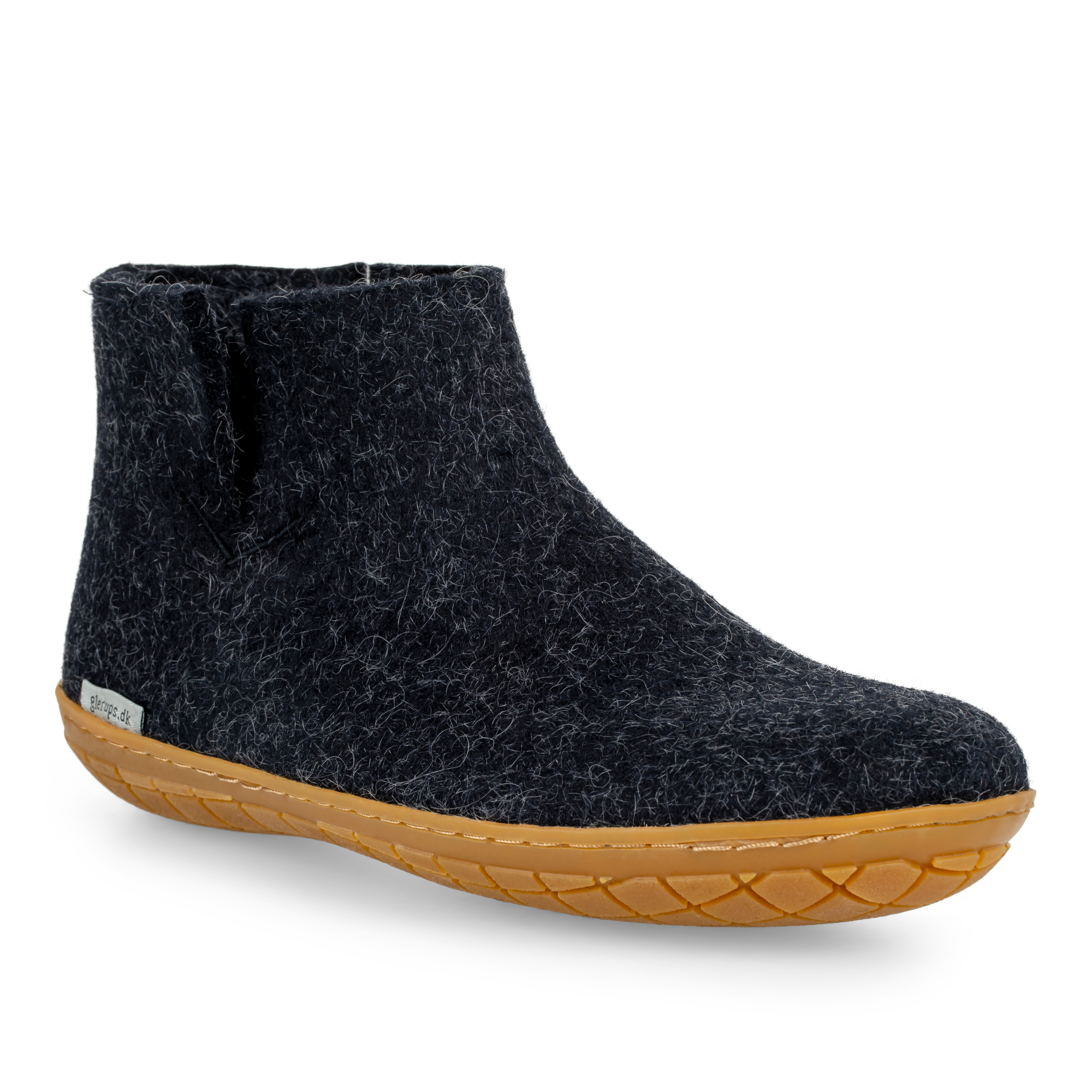 Glerups støvle med naturgummibund, koksgrå, 39