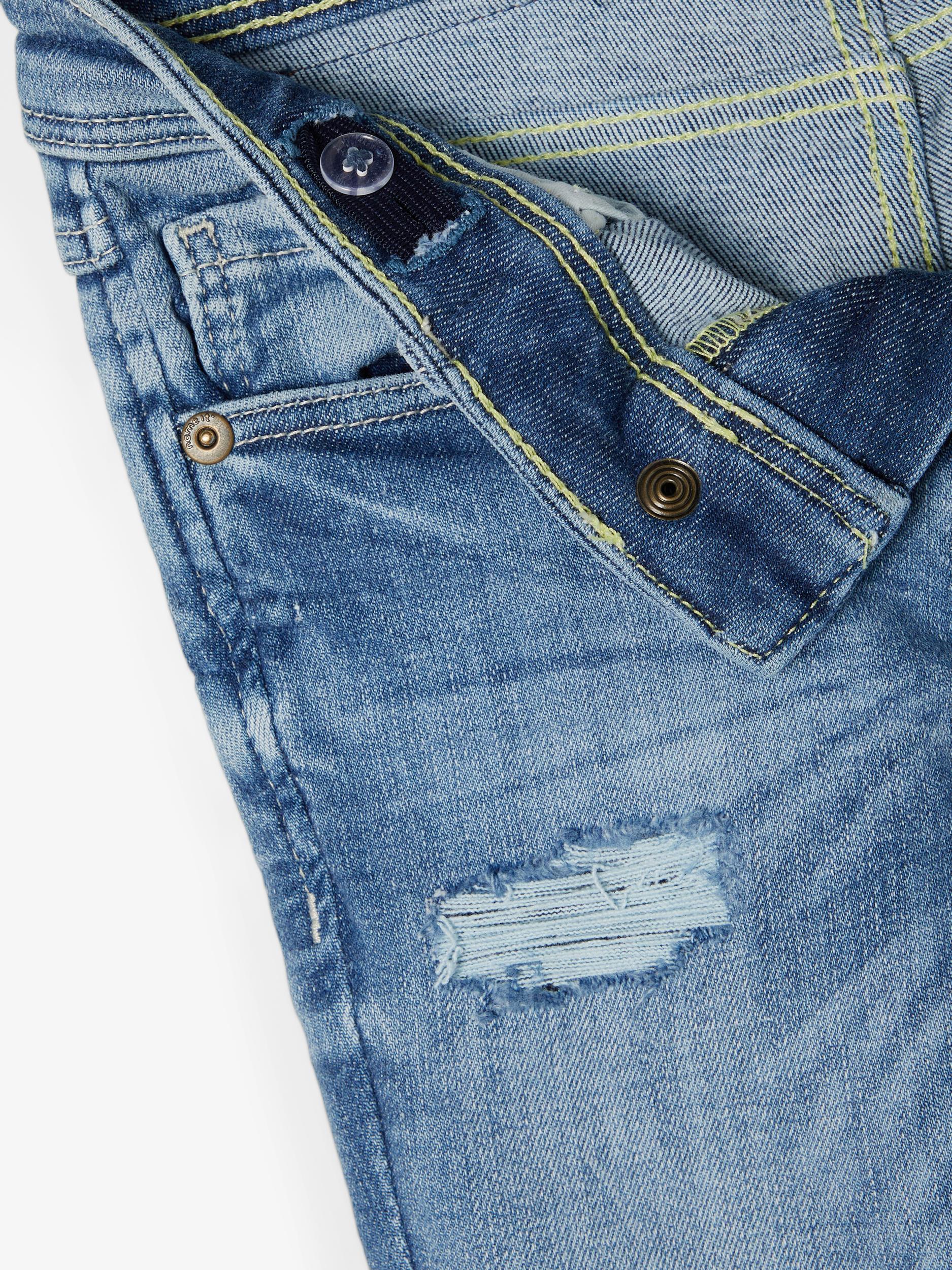 Name It Pete Tartys jeans, light blue denim, 116