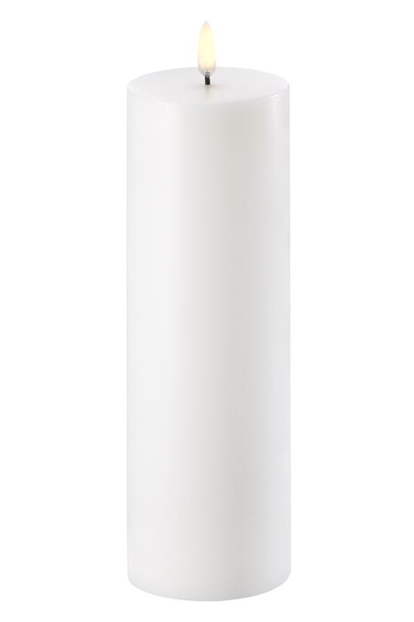 Uyuni LED bloklys, 7x23 cm, nordic hvid