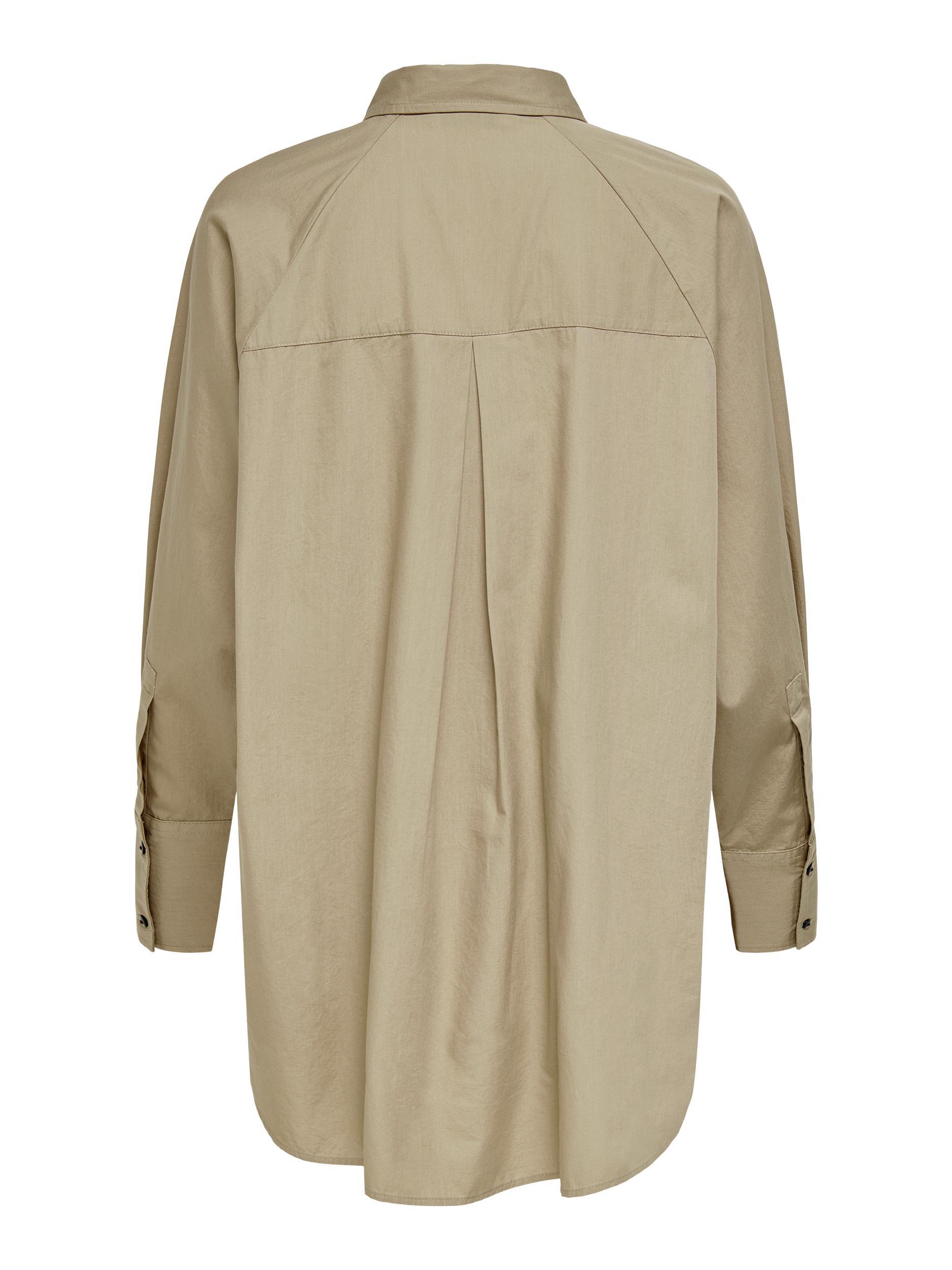 Only Selma skjorte, silver mink, small