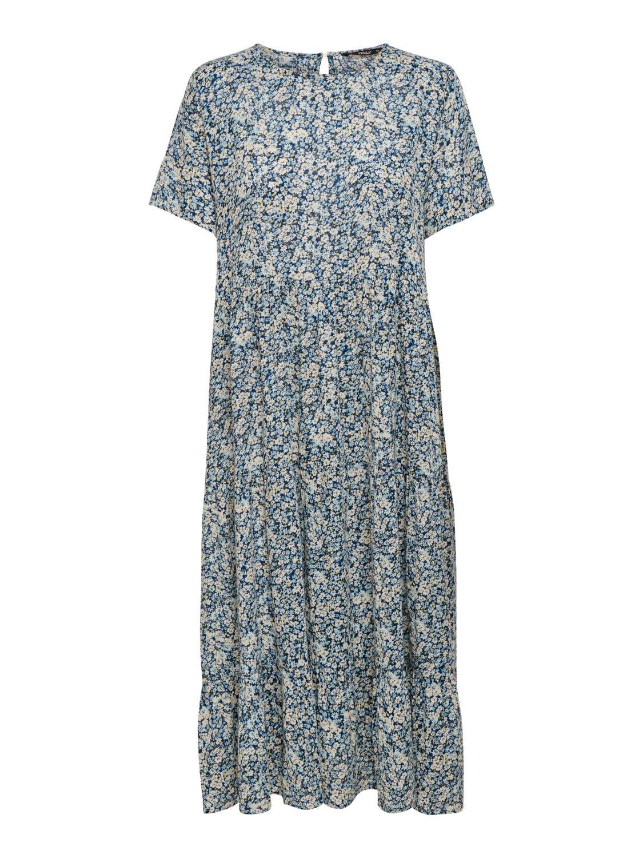 Only Abigail Midi kjole