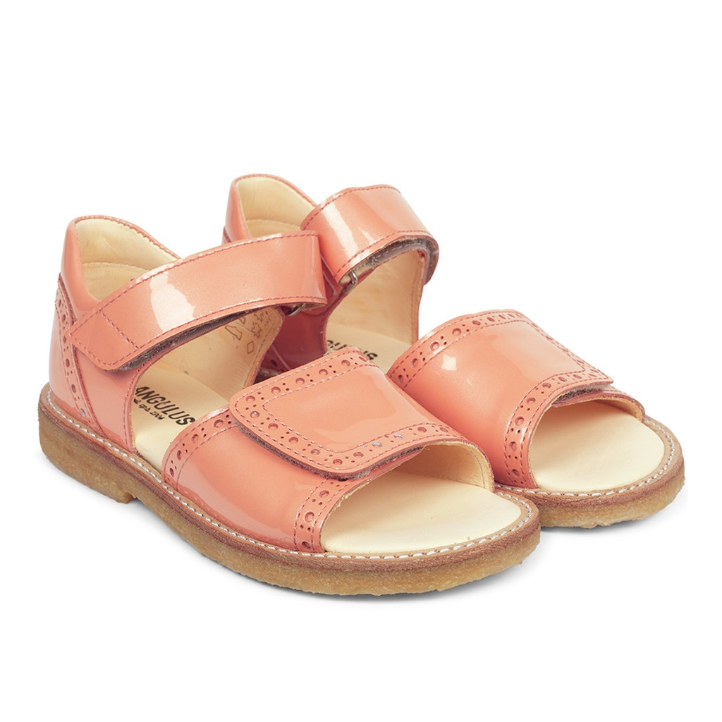 Angulus 0555-101 sandal, rosa, 28