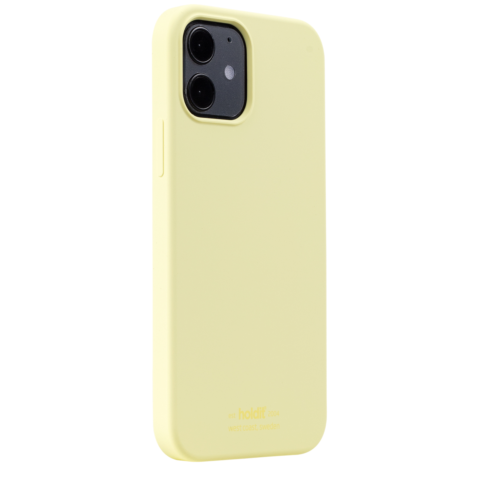 Holdit Mobilcover iPhone 12/12 Pro, lemon