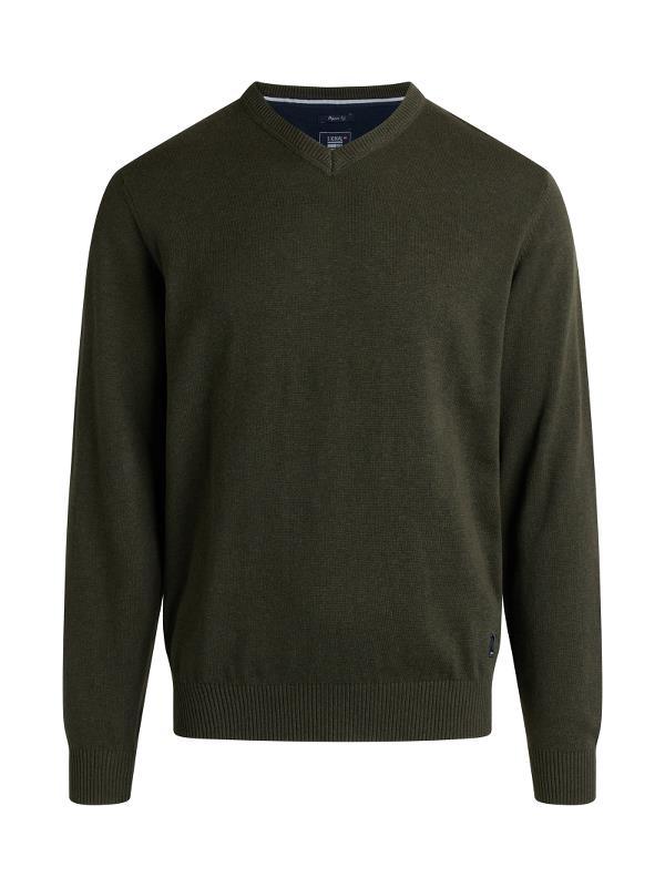 Signal Vern Bluse, Green Melange, 4X-large
