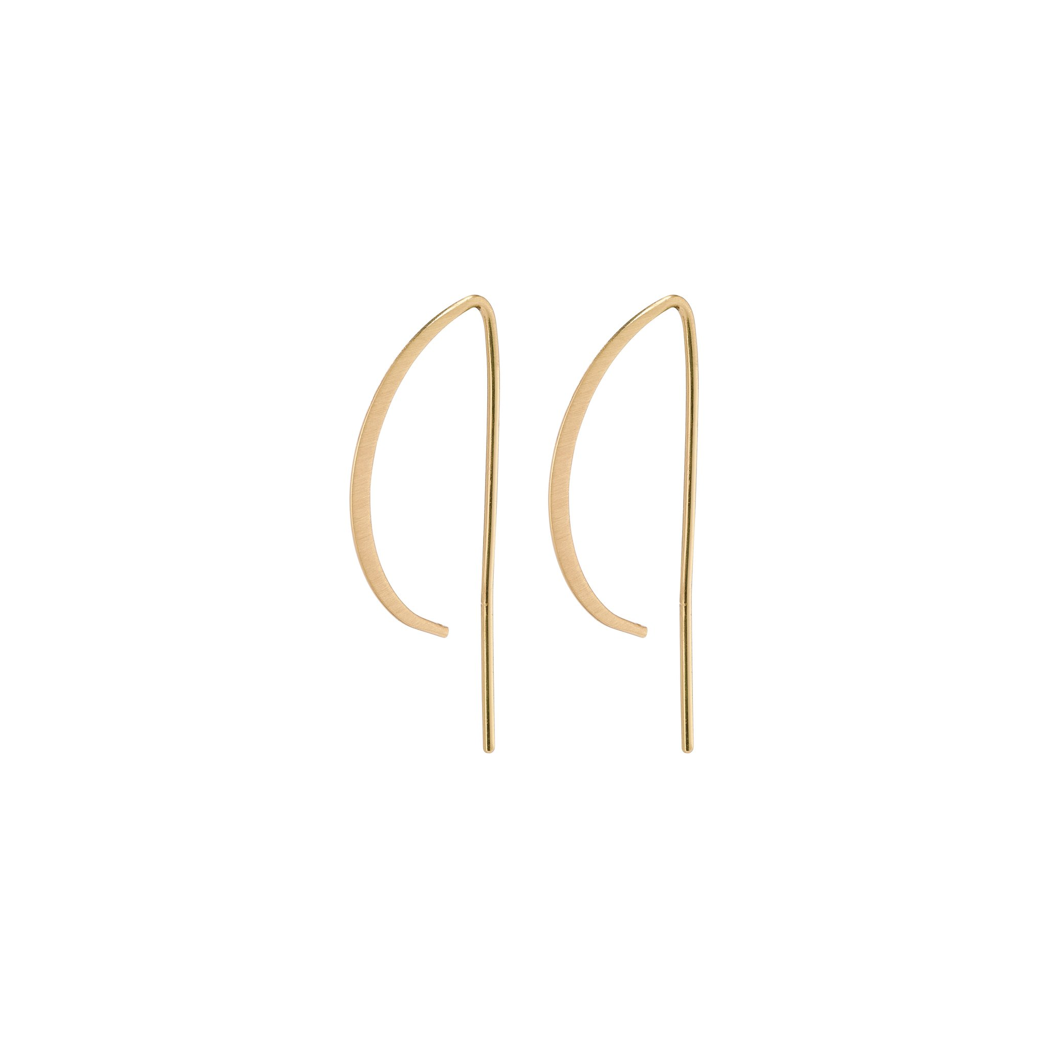 Pilgrim Peony øreringe, guld