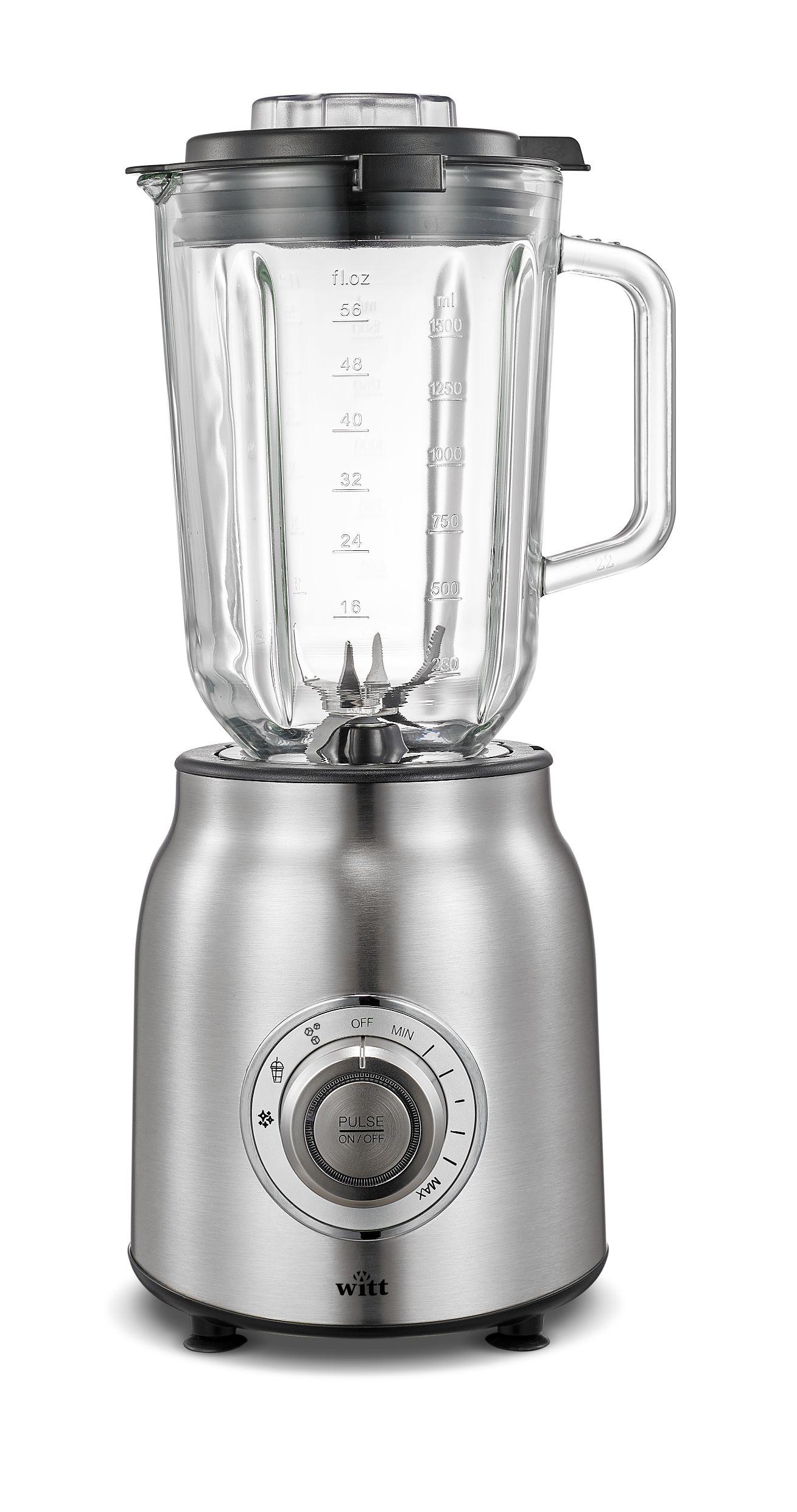 Witt WCB1200S Classic blender, stål