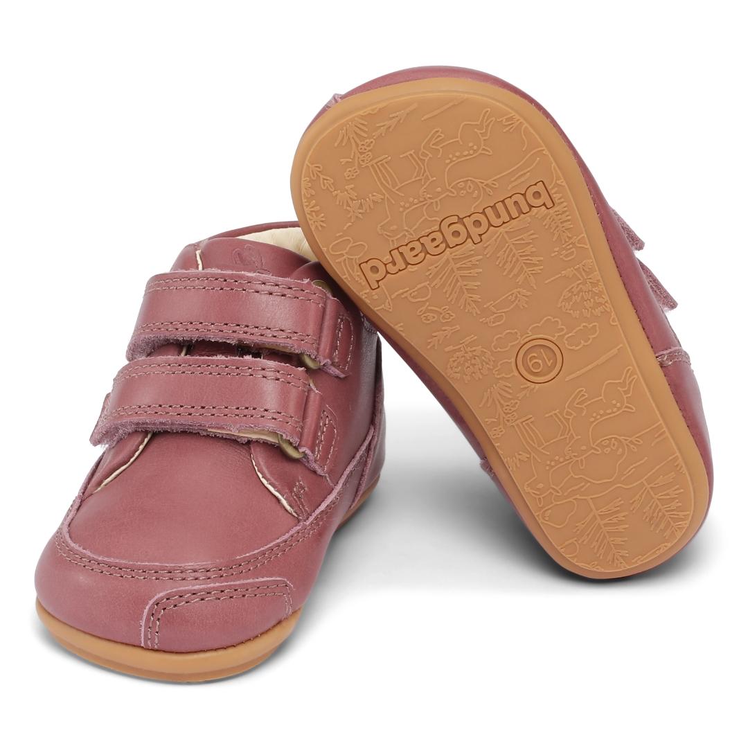Bundgaard Prewalker II Velcro sko, dark rose, 20