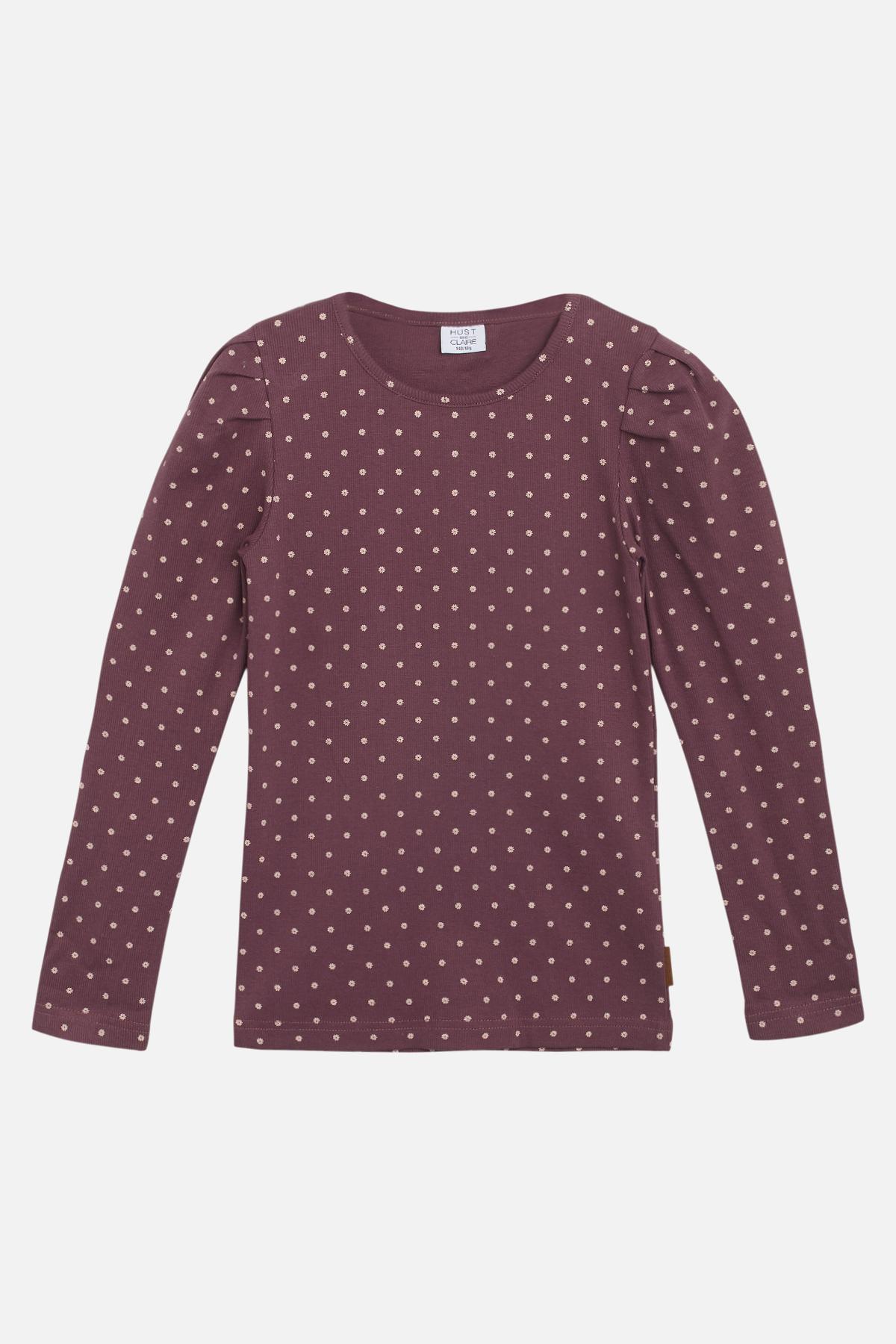 Hust & Claire Afie T-shirt, Plum Wine, 10 år