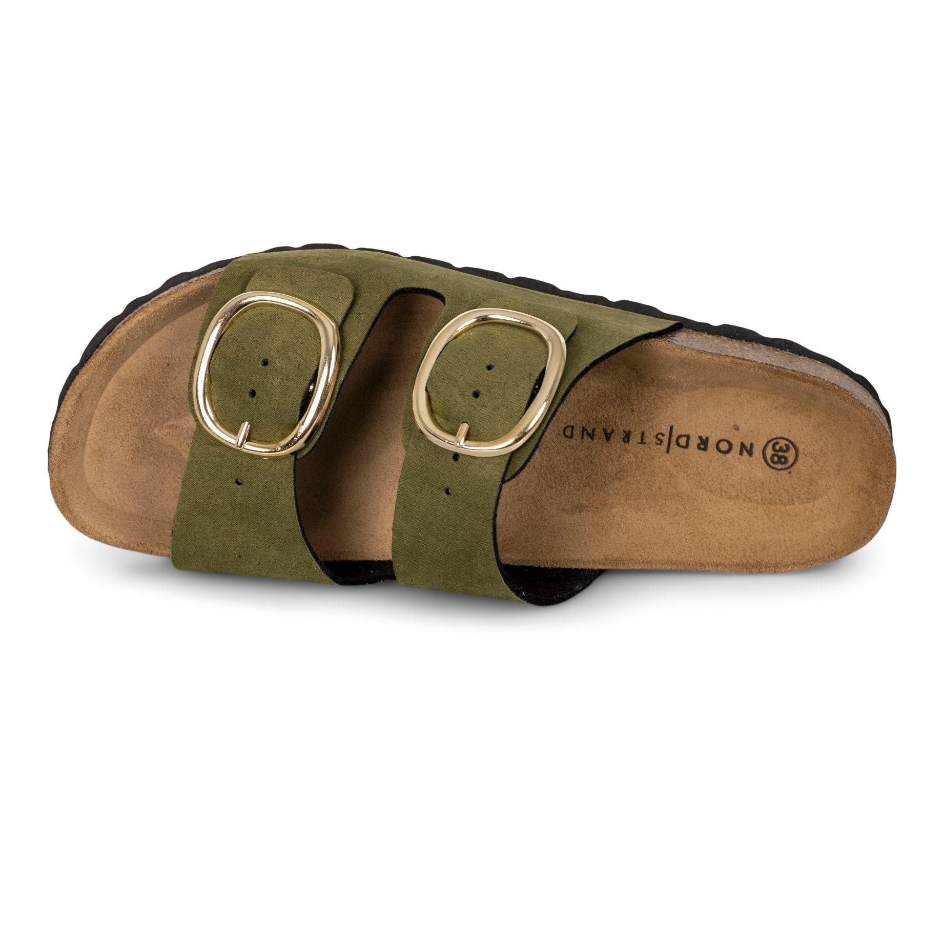 Nordstrand 747 sandal, khaki/grøn, 40