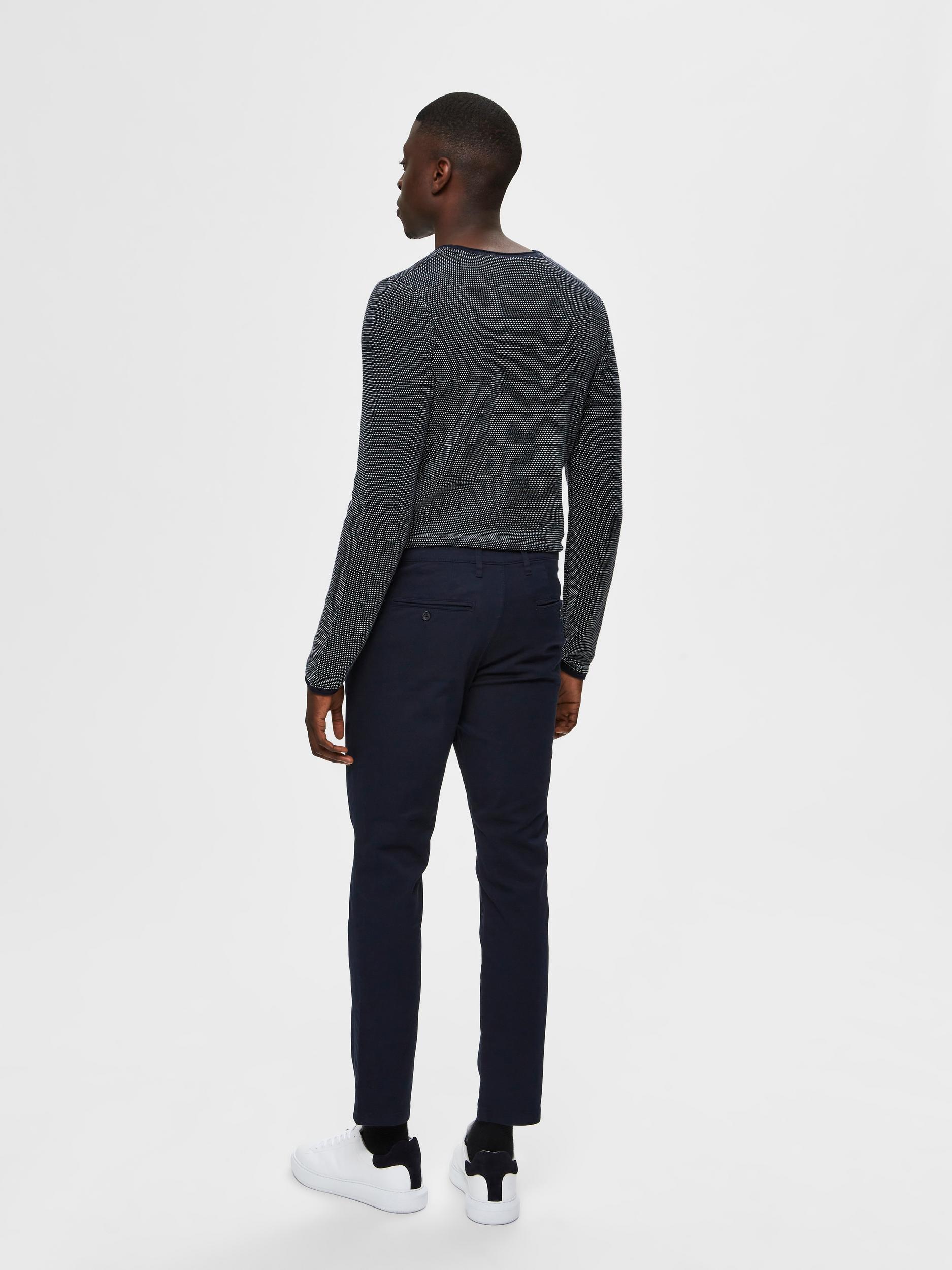 Selected Homme Miles Slim Flex chinos, dark sapphire, 32/32