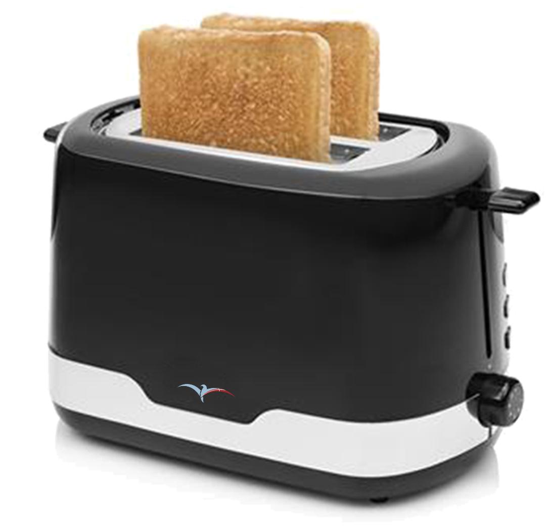 Albaline Alba toaster, sort