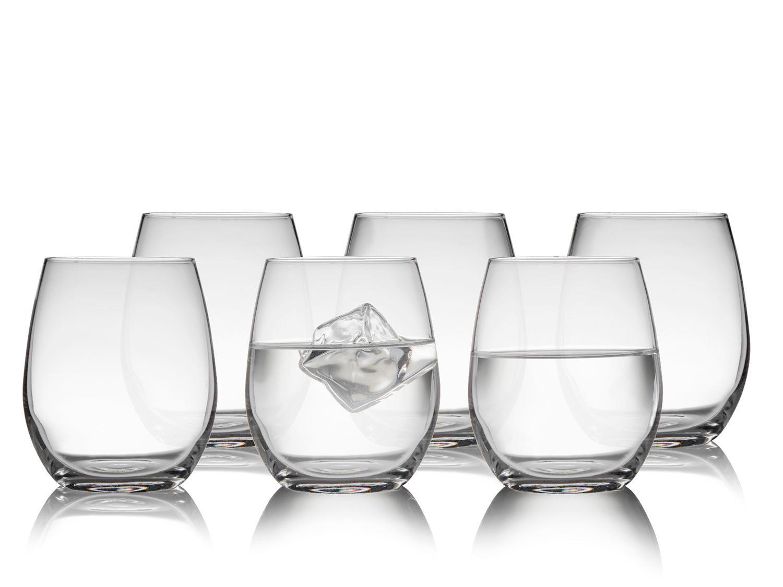Lyngby-Glas Juvel glas, 390 ml, 6 stk