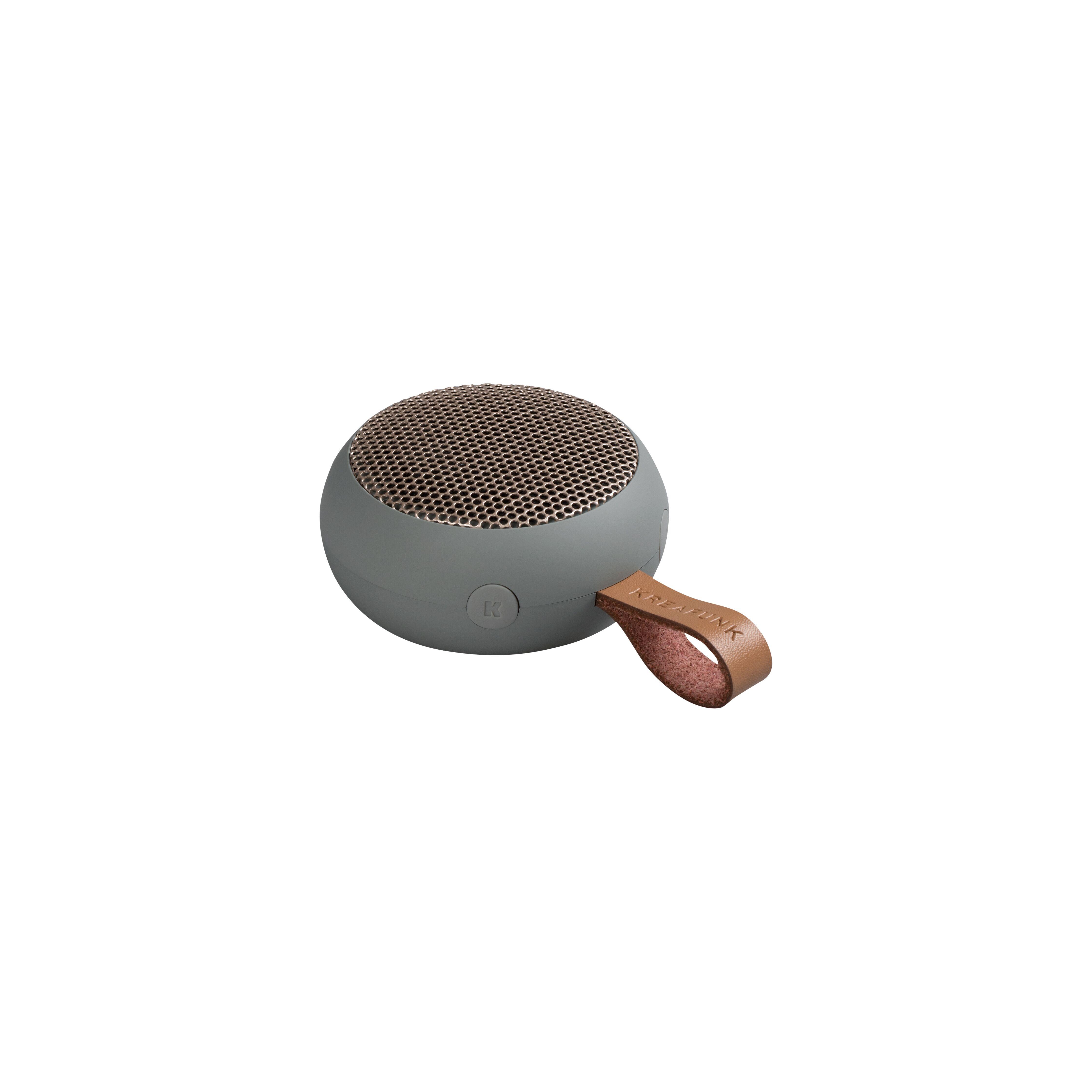 Kreafunk aGO bluetooth højtaler, grey