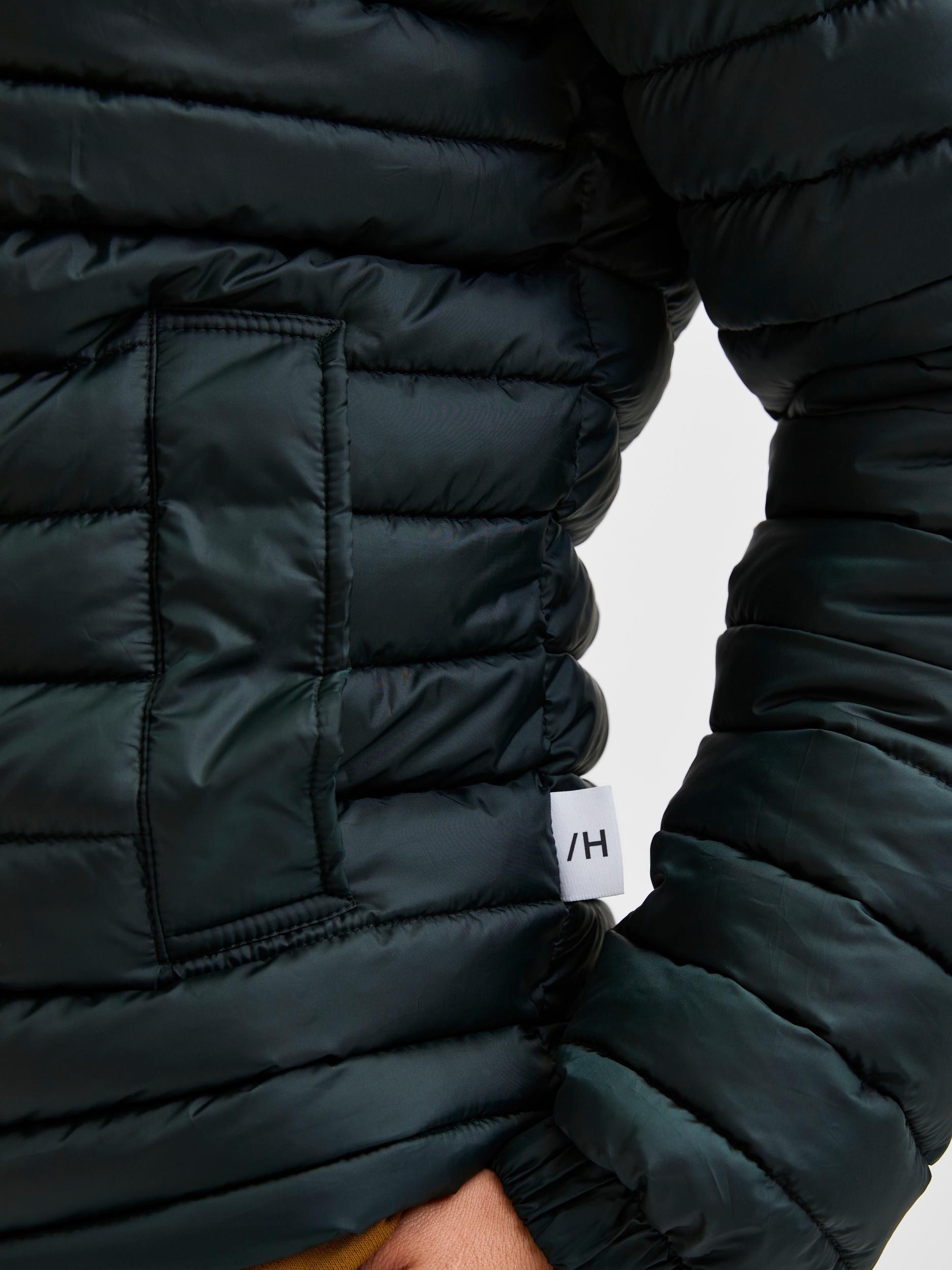 Selected Homme Plastic Change Padded jakke, scarab, M