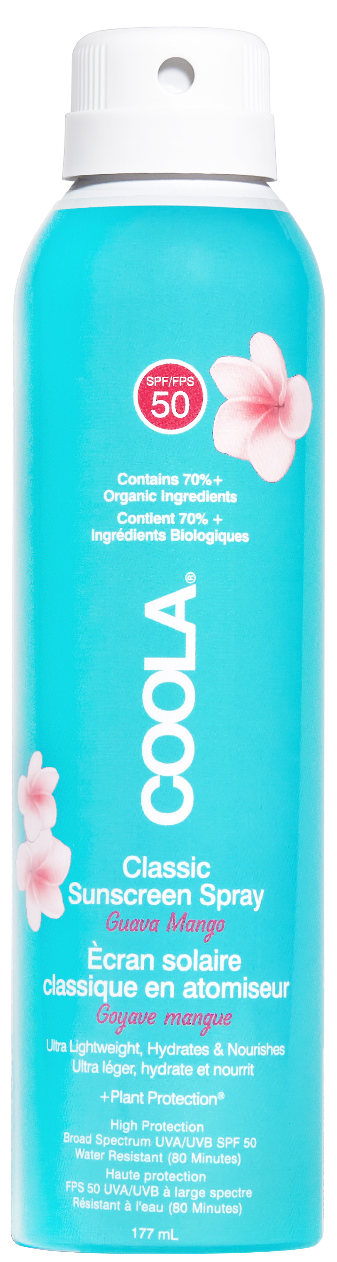 Coola Classic Body Spray Guava Mango SPF50