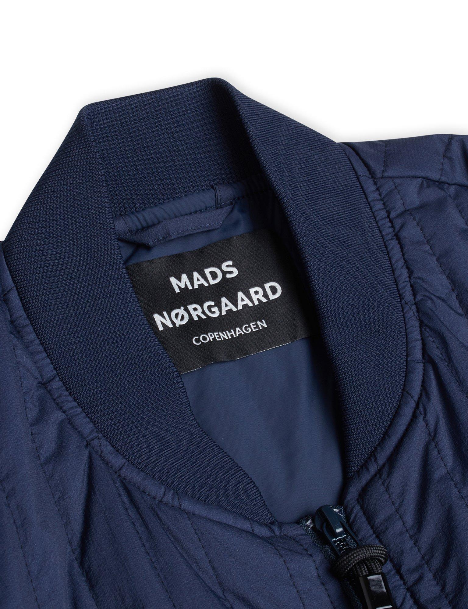 Mads Nørgaard Quilt Nylon Jeb jakke, sky captain, small
