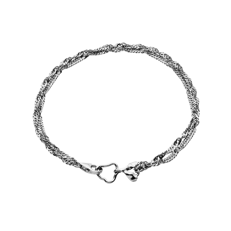 Maanesten Canna armbånd, sølv