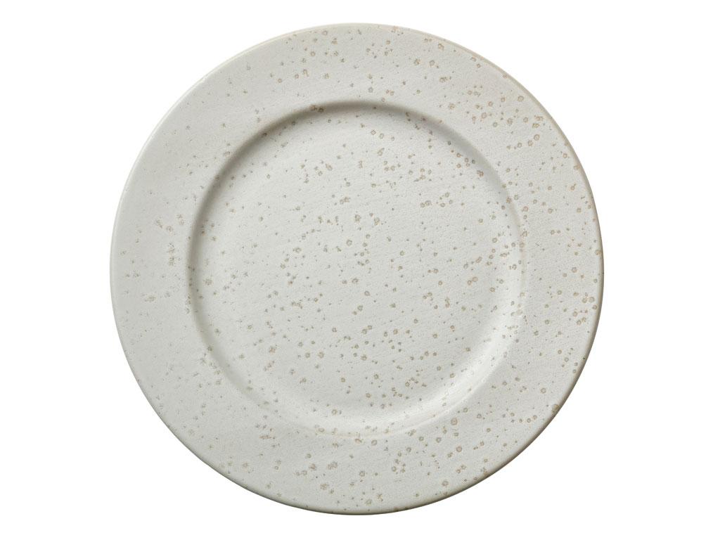 Bitz middagstallerken, Ø27 cm, creme