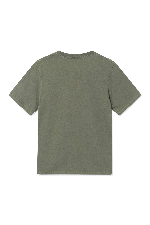 Wood Wood Bobby Pocket t-shirt, olive, medium