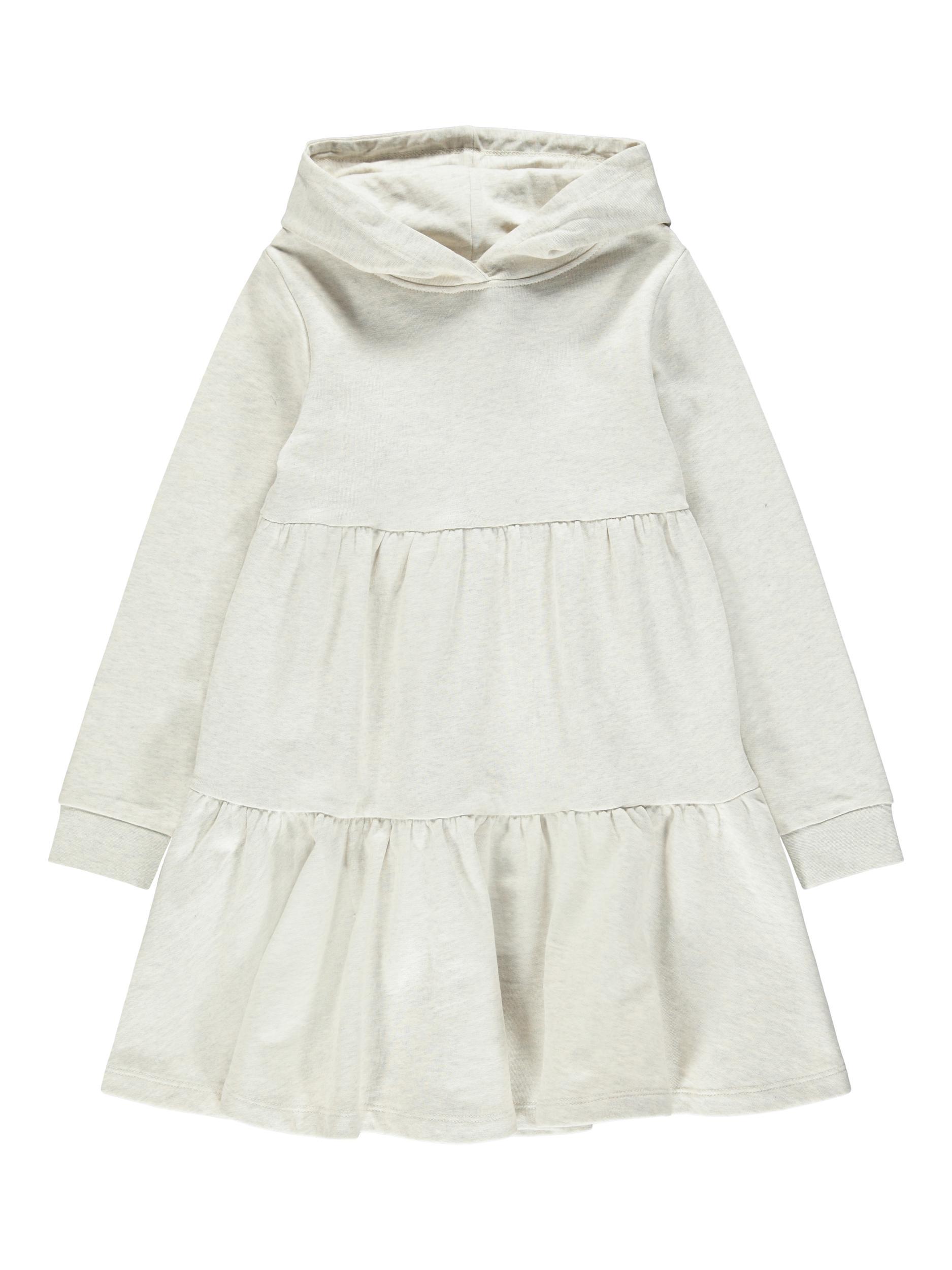 Name It Danita sweat kjole, peyote melange, 140