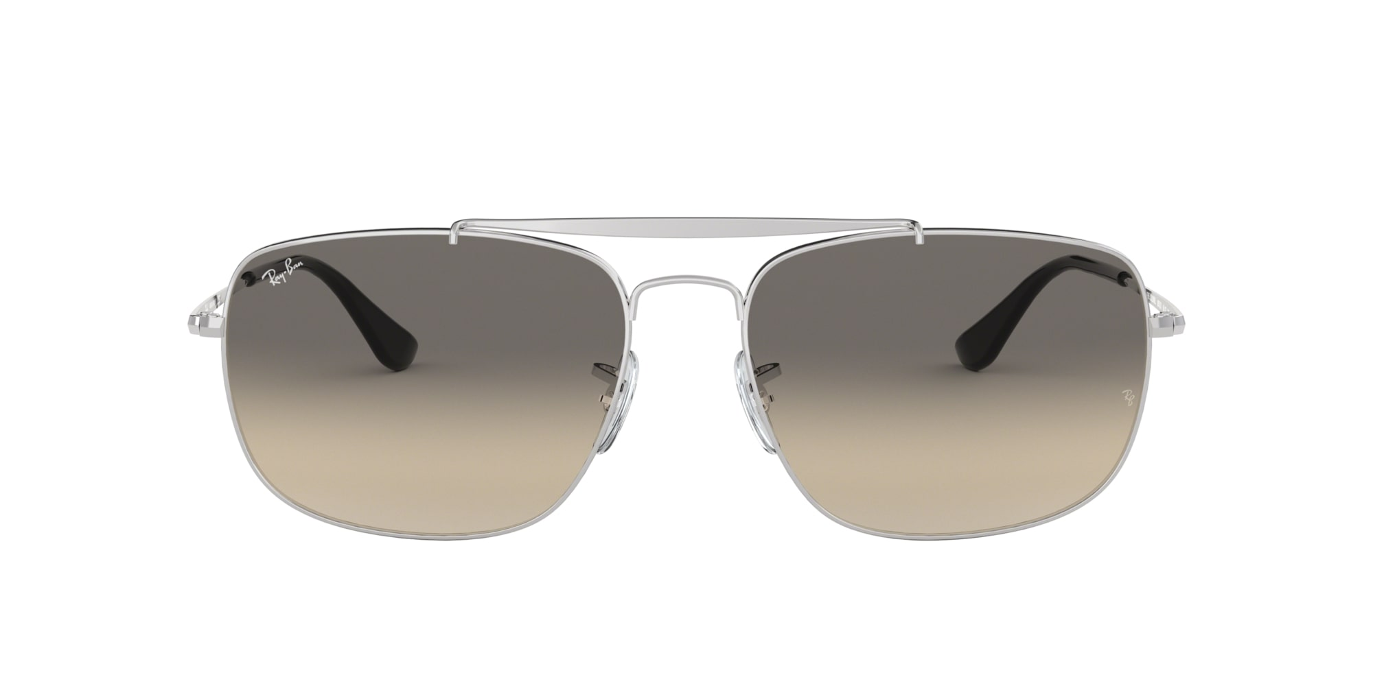Ray Ban Colonel solbriller, silver/light grey gradiant