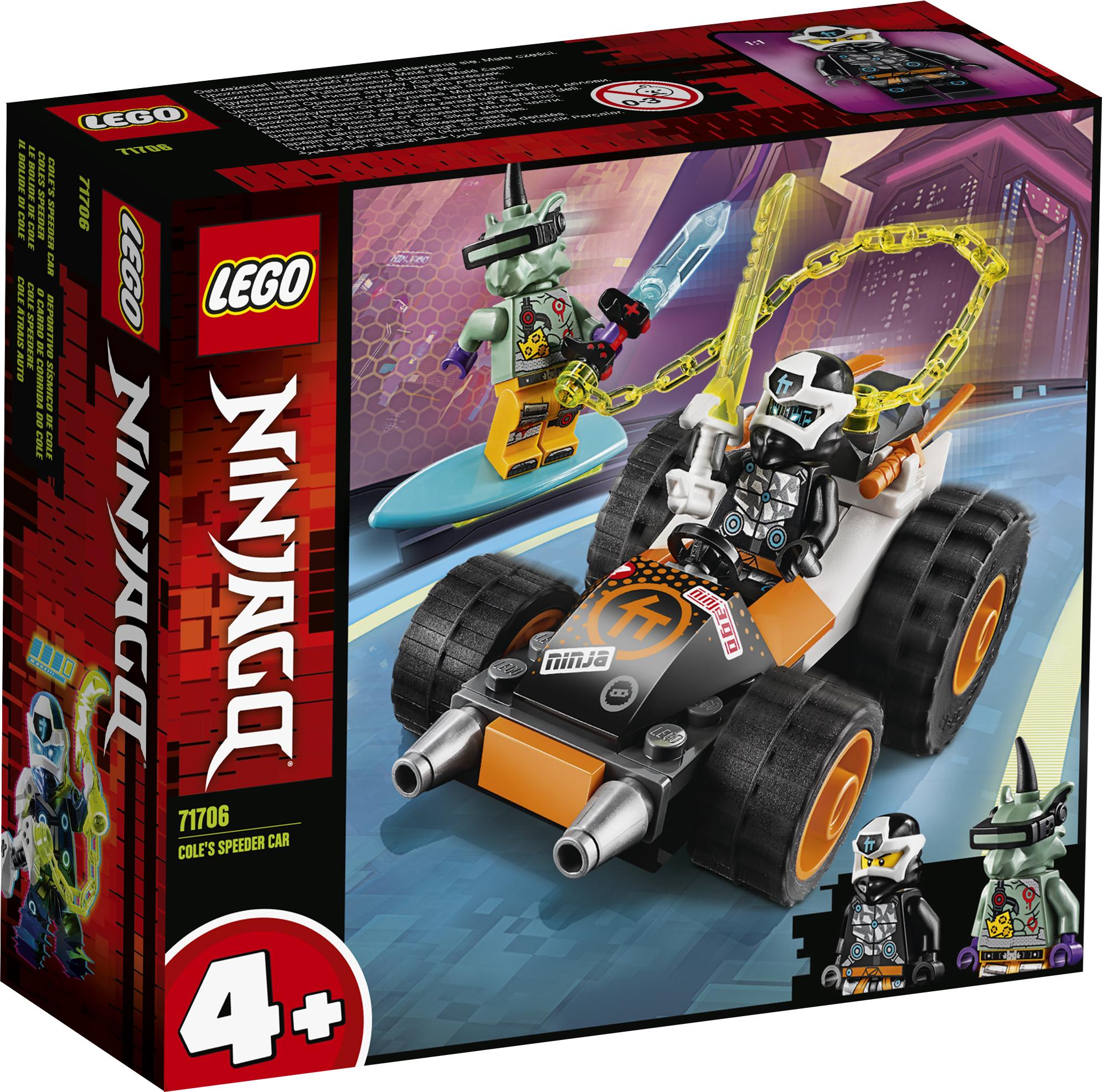 LEGO Ninjago Coles racerbil - 71706