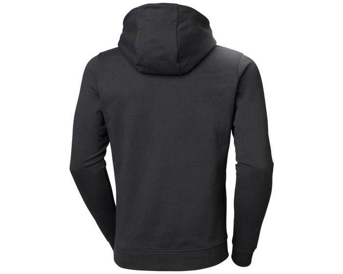 Helly Hansen F2F hoodie, ebony, large