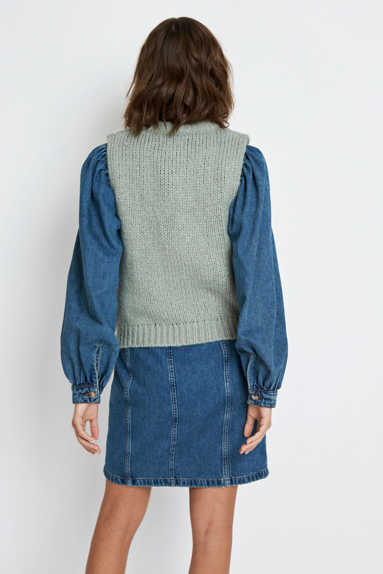 Envii Entrepka SL knit, chinois mel, x-small