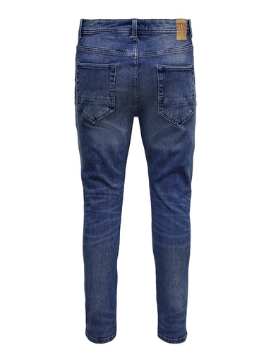 Only & Son Loom Jeans, Blue Denim, W33/L32