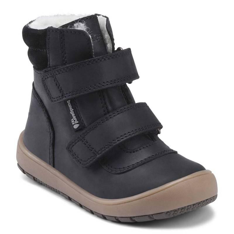 Bundgaard Rabbit Velcro støvler, Sort, 26
