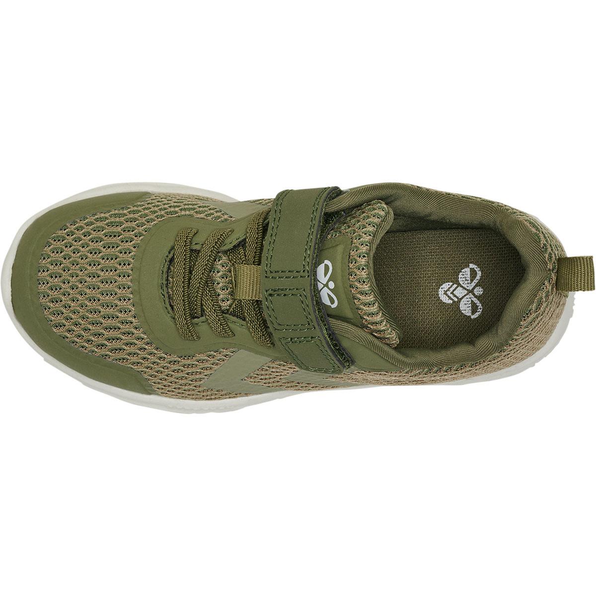 Hummel Actus Ml Infant sneakers, deep lichen green, 22