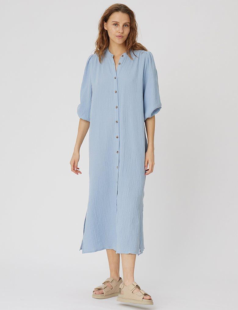mbyM Mirella kjole, blue dust, large