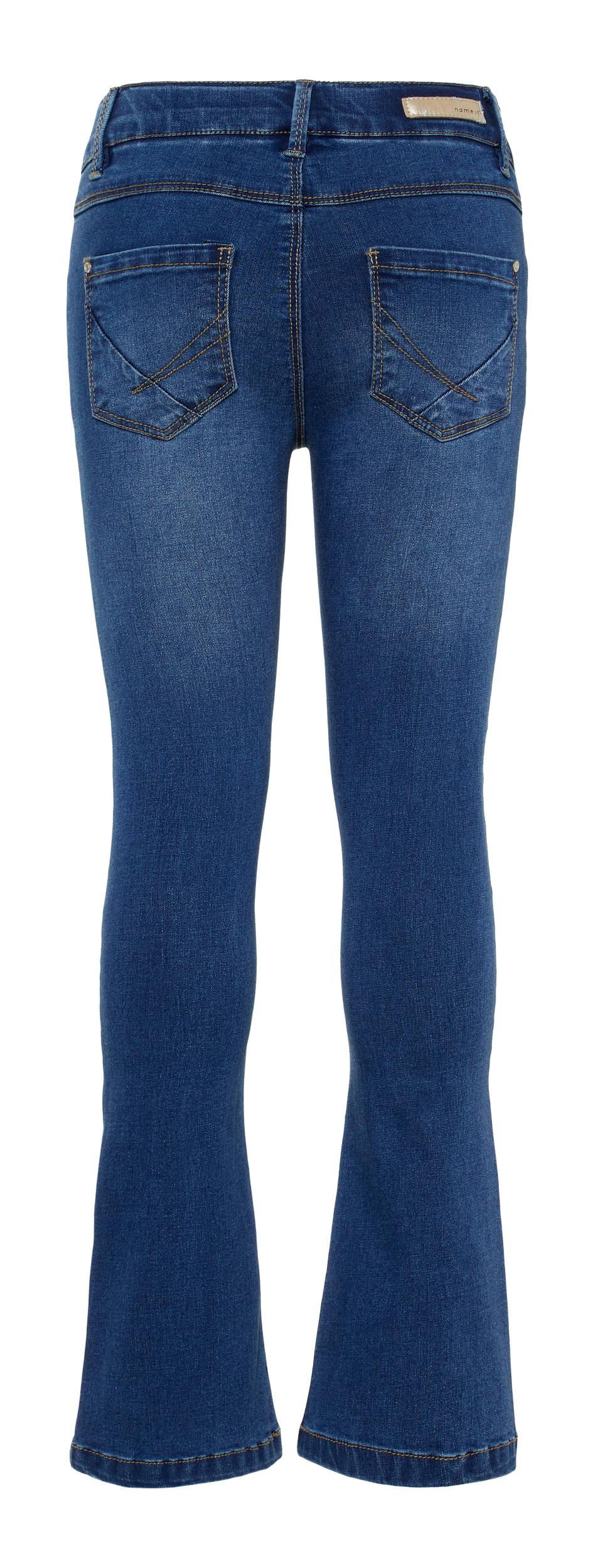 Name It Polly Digo jeans, dark blue denim, 122
