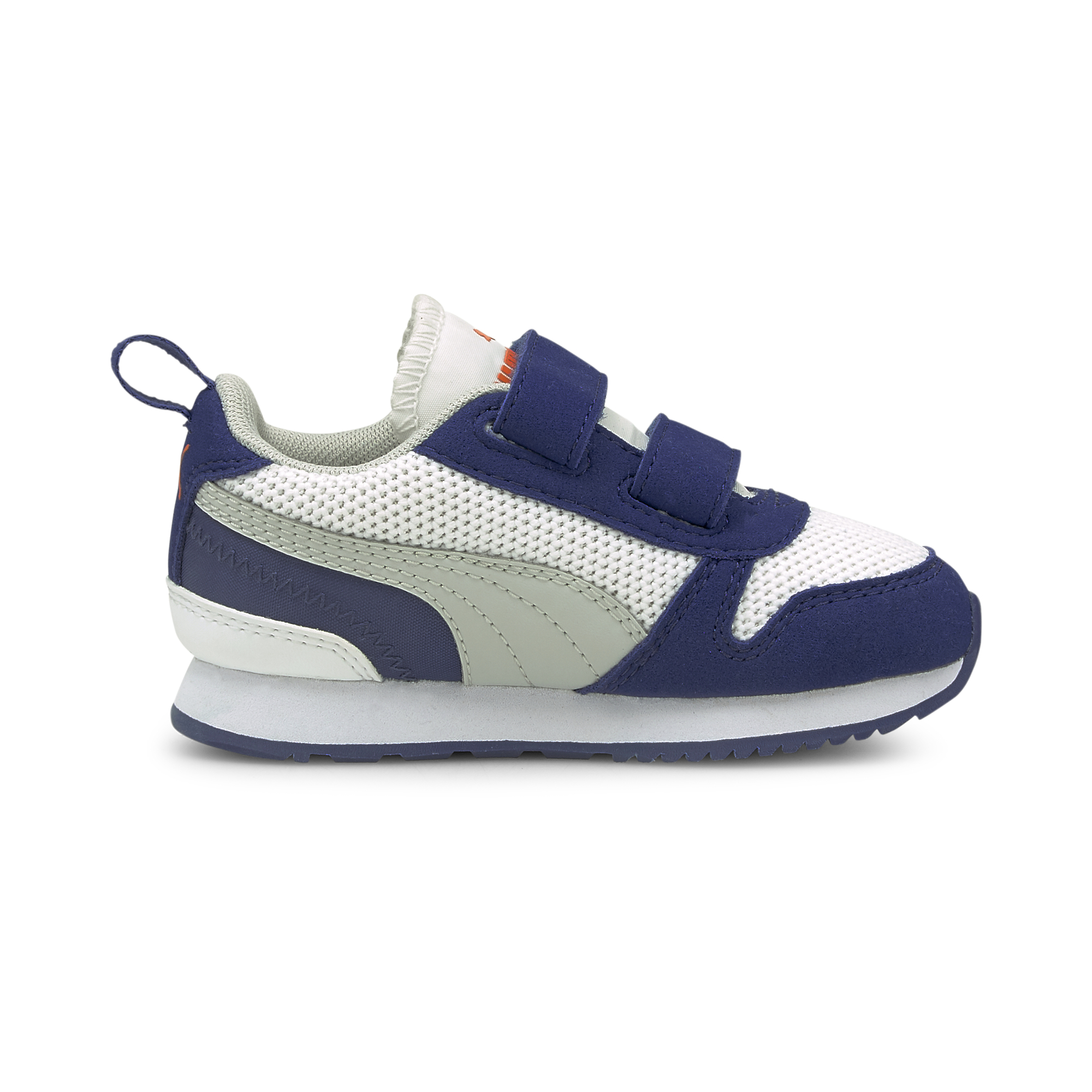 PUMA R 78 sneakers, white-grey-electro blue, 26
