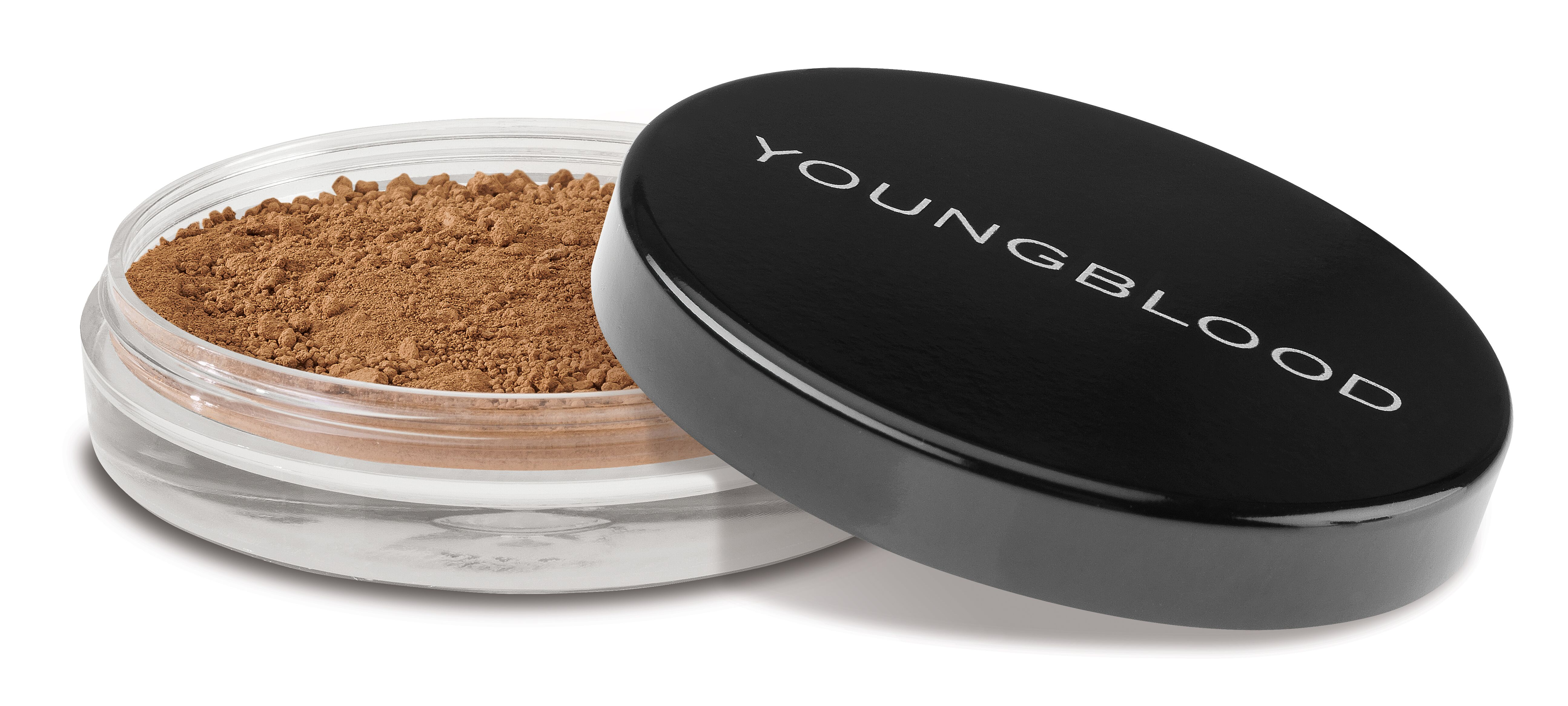 Youngblood natural loose mineral foundation, coffee