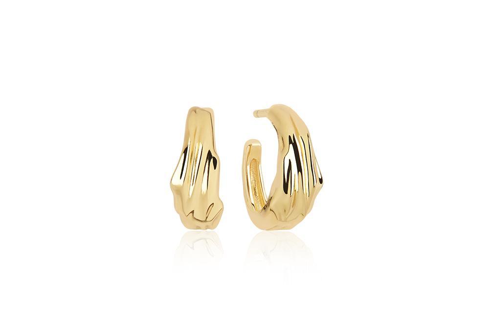Sif Jakobs Jewellery Vulcanello Pianura øreringe, guld