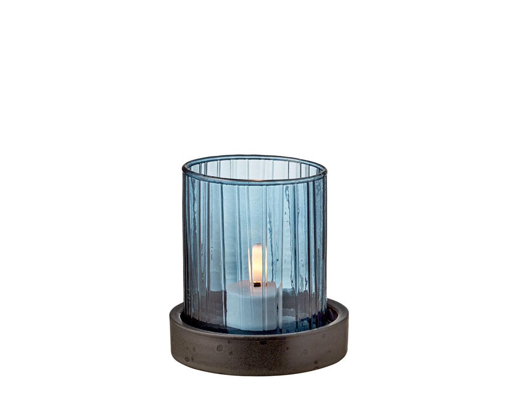 Bitz Hurricane med LED, 11 cm, blå