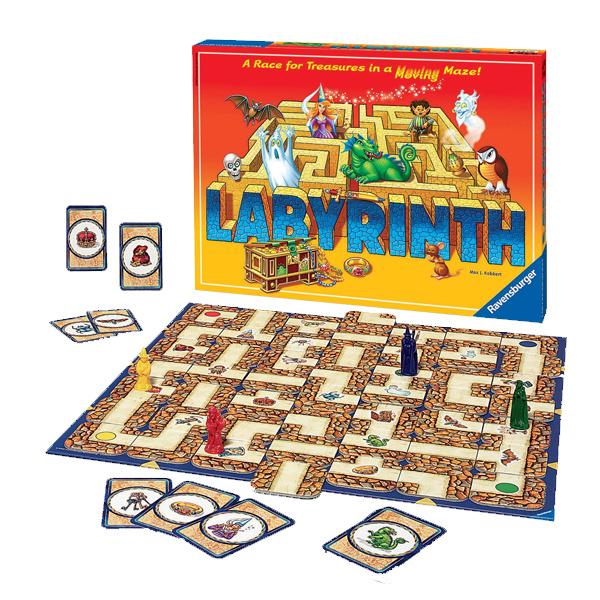 Ravensburger labyrinth, spil