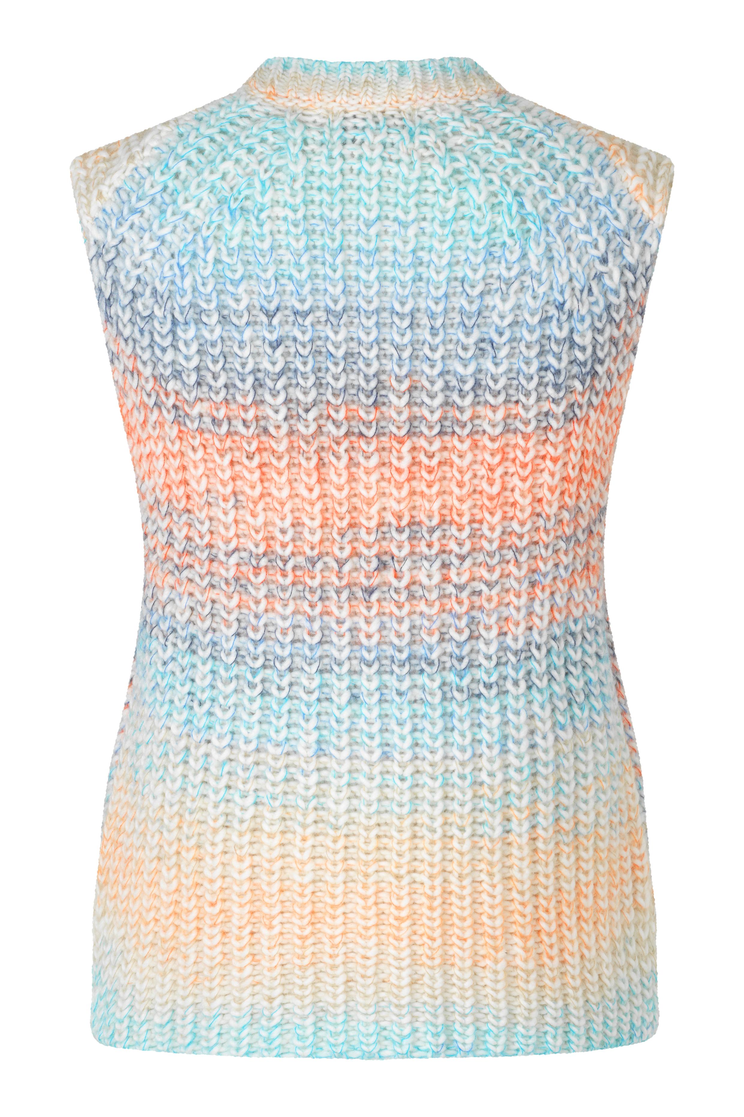 Second Female Elsa Knit Vest, brunnera blue, medium