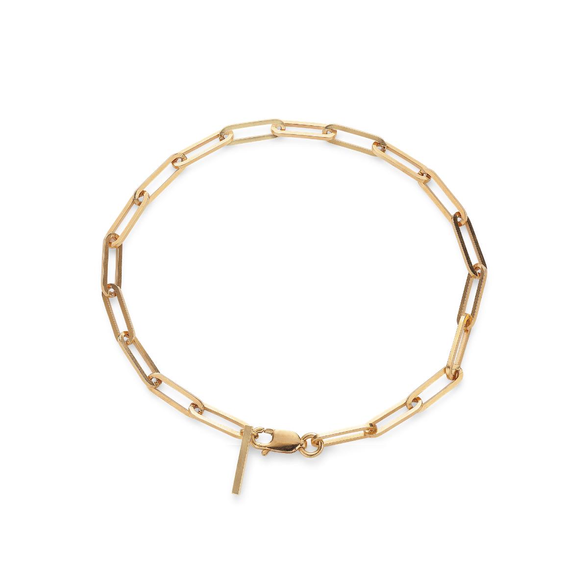 Jane Kønig Reflection Stretched armbånd, guld