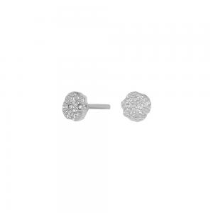 Joanli Nor Gwennor ørestikker, rhodineret sølv, 4mm