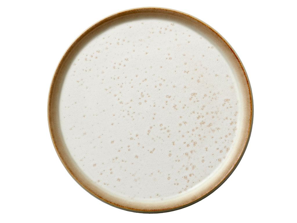 Bitz Gastro frokosttallerken, Ø21 cm, creme
