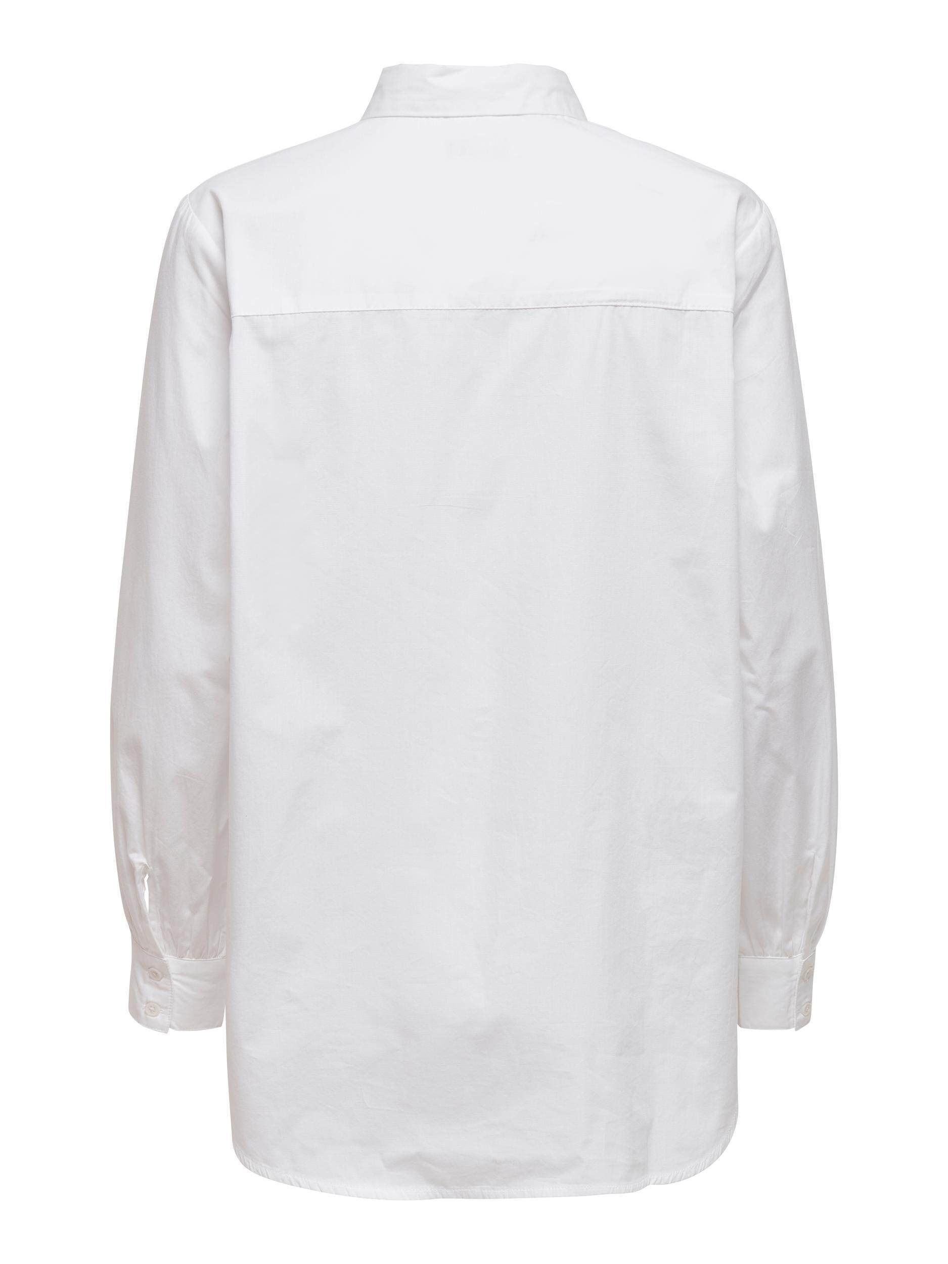 ONLY Nora New skjorte, white, medium