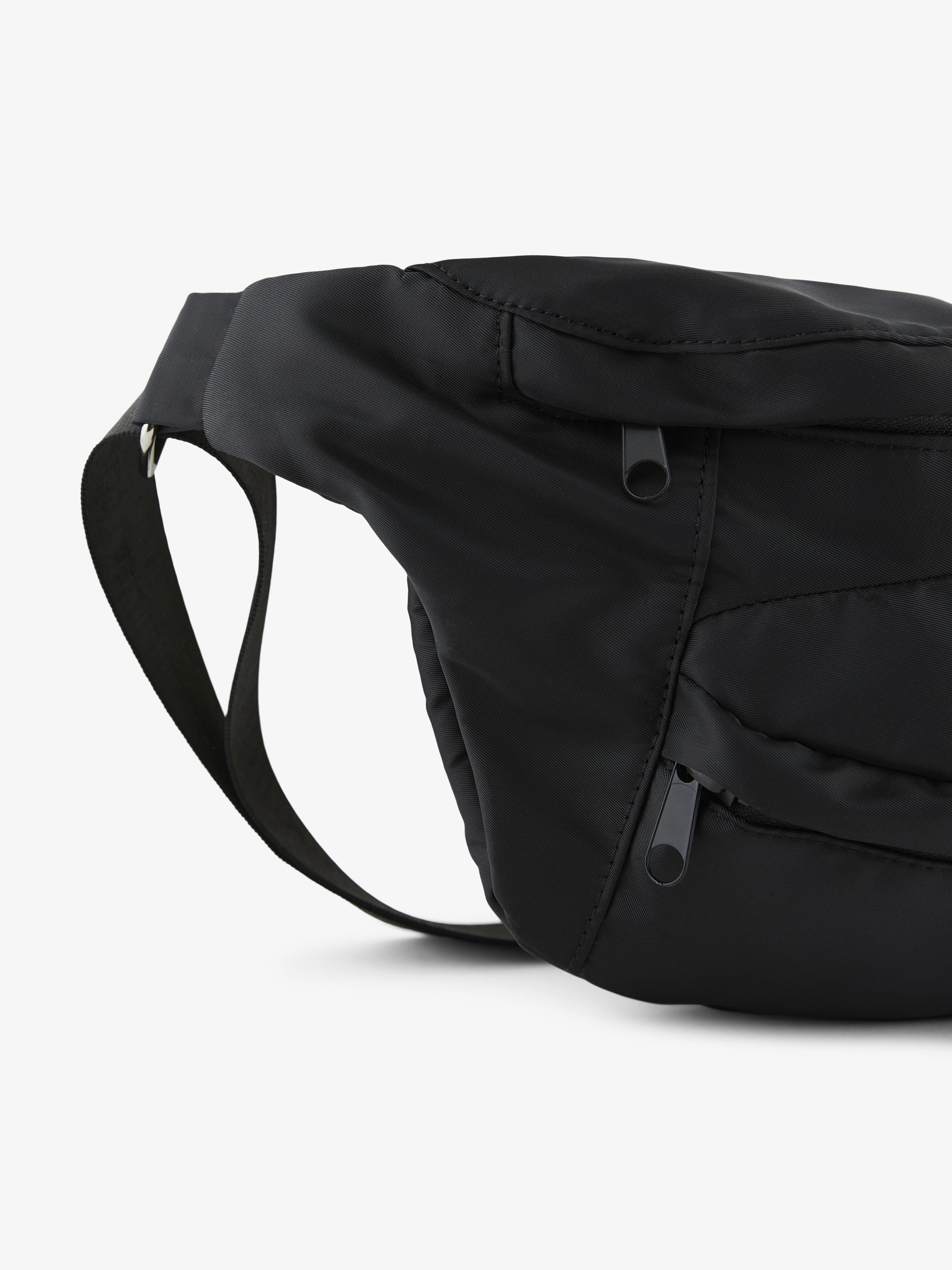 Pieces bæltetaske, black