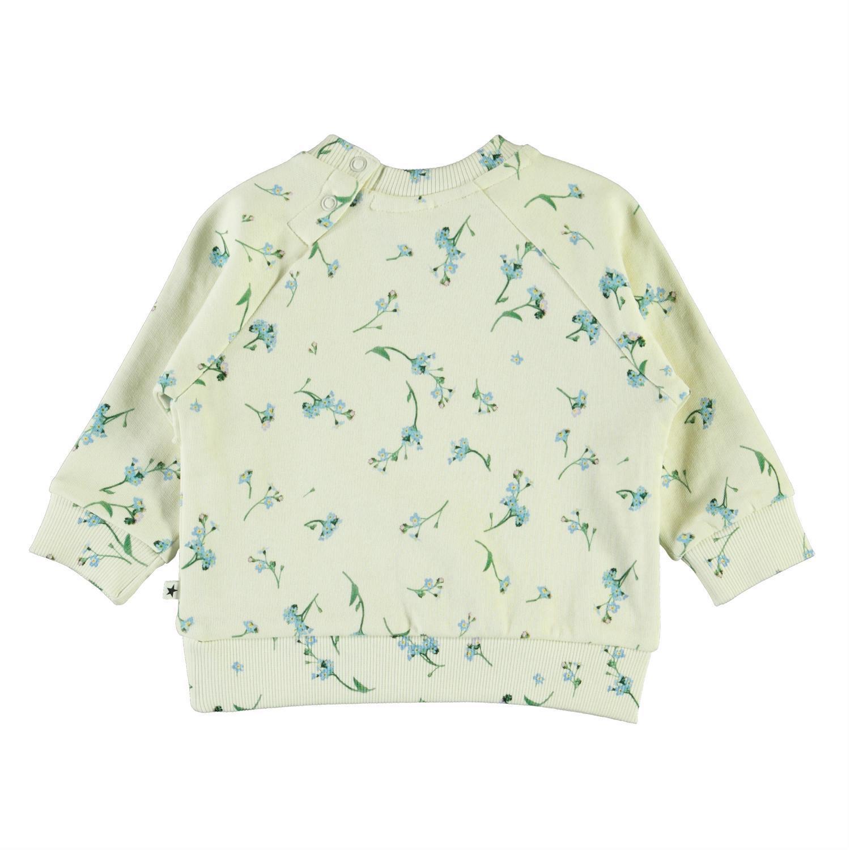 Molo Dyna sweatshirt, forget me not, 80