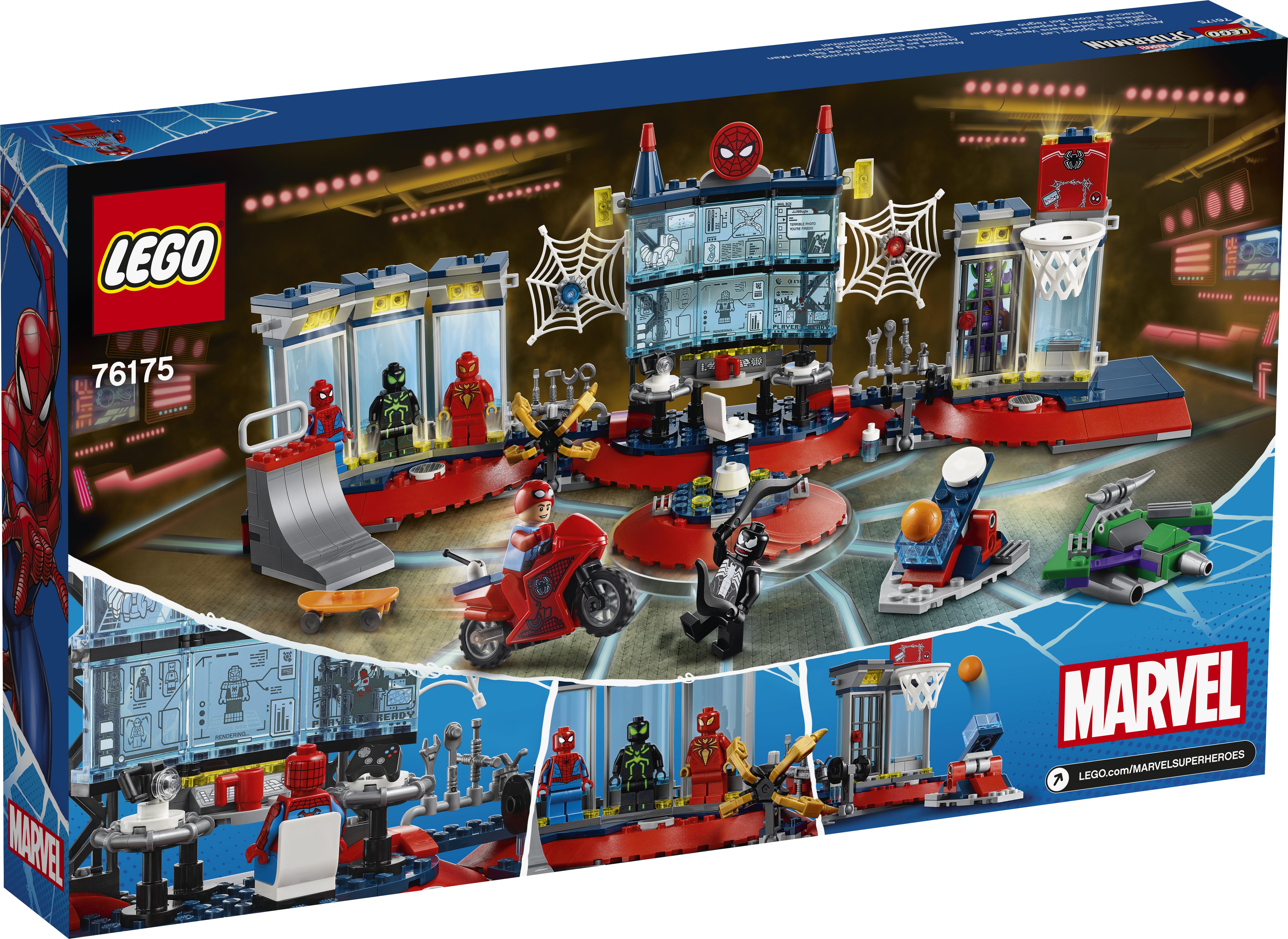 LEGO Super Heroes Angreb på Spider-tilholdsstedet - 76175