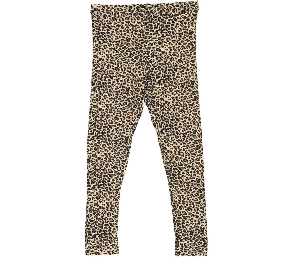 MarMar Leggings, brun leopard, 68